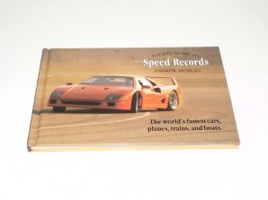 POCKET GUIDE TO SPEED RECORD The world's fastest cars planes trains and boats (Duncan 1993)